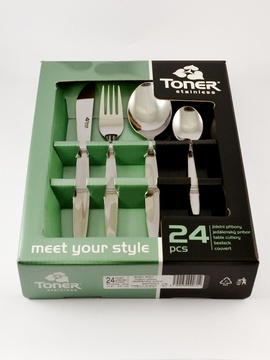 BISTRO cutlery 24-piece - economic packaging