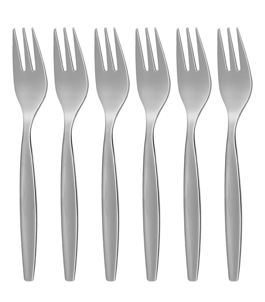 BISTRO cake fork 6-piece - economic packaging