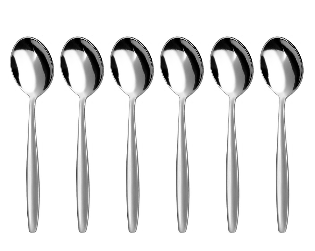 BISTRO coffee spoon 6-piece - economic packaging